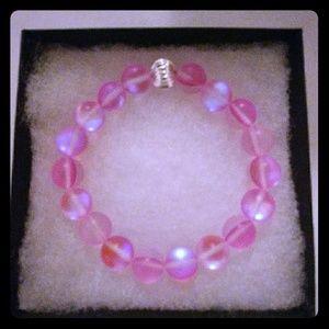 Jewelry - Rose Pink Moonstone Bracelet
